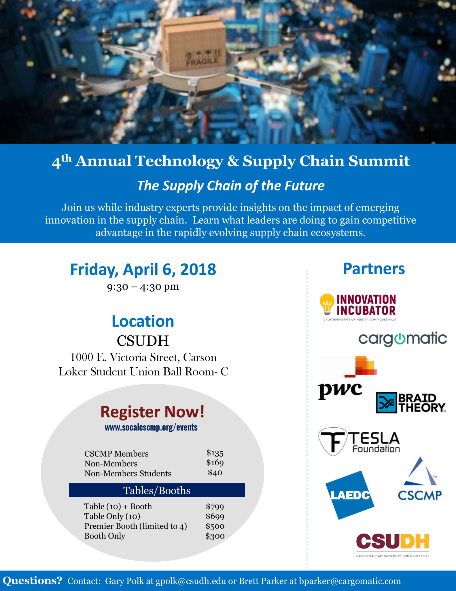 Annual Tech Summit   CSCMP Southern California Roundtable