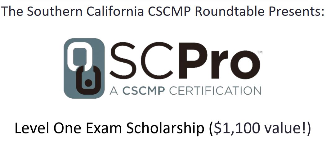 Scholarships | CSCMP Southern California Roundtable