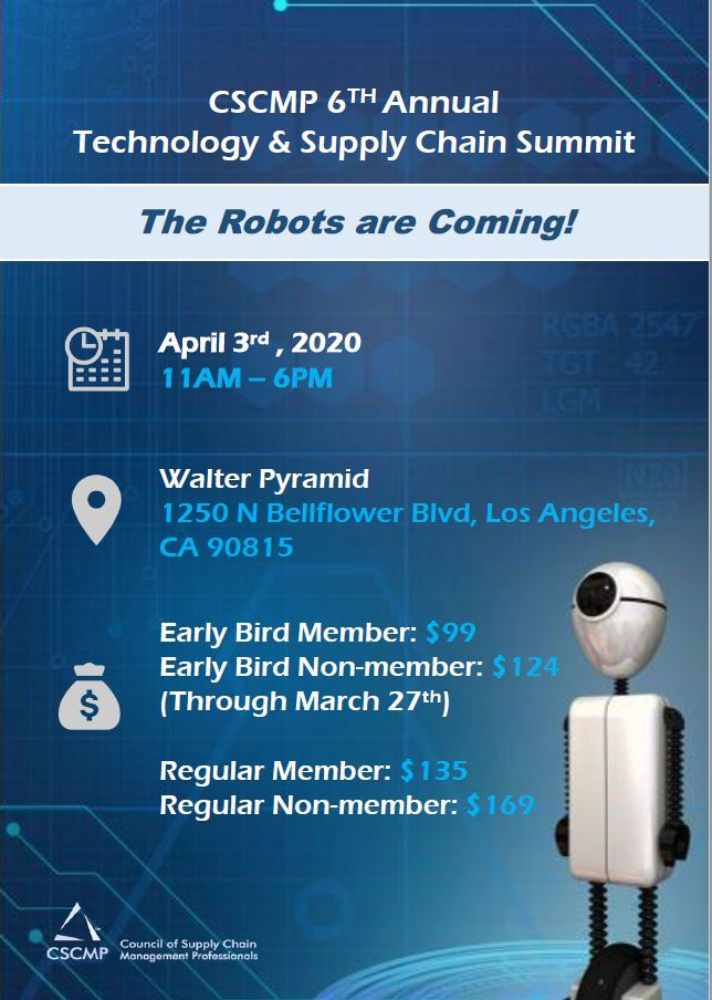Robots are Coming Flyer